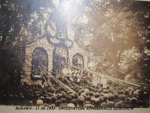 11.06.1933r - Uroczystość konsekracji dzwonów