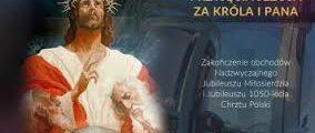 PRZYJĘCIE JEZUSA CHRYSTUSA JAKO KRÓLA I PANA