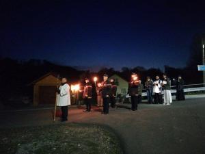 Parafialna Droga Krzyżowa w Nielepicach2
